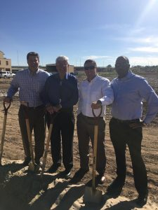 NMSU Heritage Farm Breaks Ground