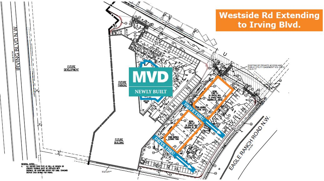 Shops Eagle Vista site plan