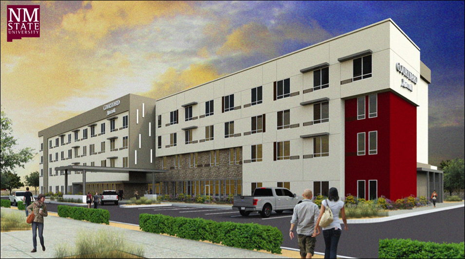 New Courtyard Marriott will give NMSU students a unique, hands-on experience