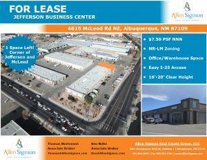 4615 McLeod - Industrial, Mixed-Use