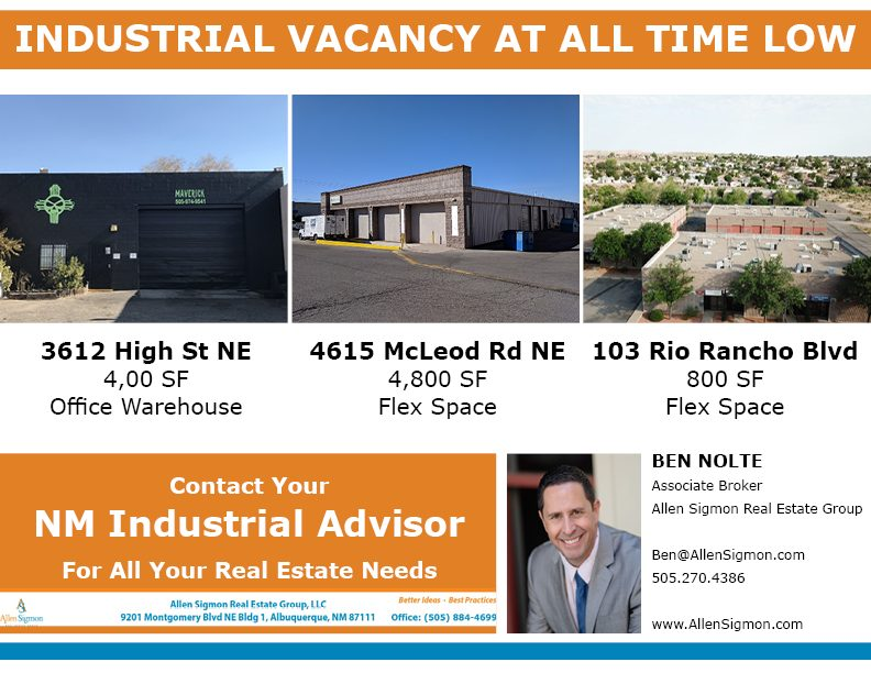 Industrial Vacancy Hits a Record Low